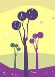 trädgårds- illustration royaltyfri illustrationer
