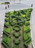 Trädgårds- inre på trafikljuset Royaltyfria Bilder