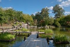 trädgårds- japanesa Royaltyfri Foto