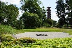 trädgårds- japansk kew Arkivbilder