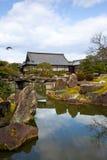 trädgårds- japansk nijo för slott Royaltyfri Bild