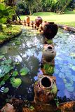 trädgårds- jar Royaltyfri Bild