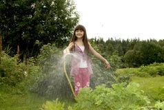trädgårds- kök för barn Fotografering för Bildbyråer
