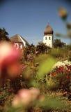 trädgårds- kloster royaltyfria foton