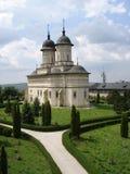 trädgårds- kloster för gränd arkivbild