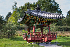 trädgårds- korean royaltyfri foto