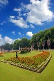 trädgårds- kunglig person royaltyfri bild