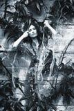 trädgårds- kvinna Royaltyfri Foto