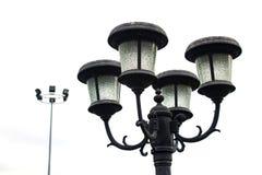Trädgårds- lampa Arkivbild