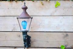 Trädgårds- lampa royaltyfria foton