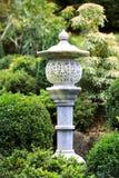 Trädgårds- lampa för japan Arkivbild