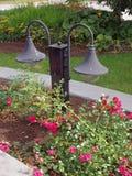 Trädgårds- lampor Arkivfoton