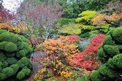 trädgårds- landskap Royaltyfria Bilder