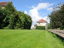 trädgårds- lawn Arkivfoto
