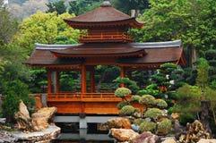 trädgårds- lian nan Arkivbild