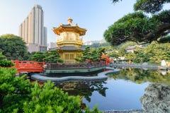 trädgårds- lian nan Royaltyfri Bild