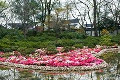 trädgårds- liggande för kines Royaltyfri Bild