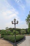 trädgårds- lighting royaltyfria foton