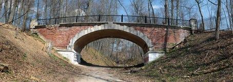 trädgårds- liten sukhanovo för bro Fotografering för Bildbyråer