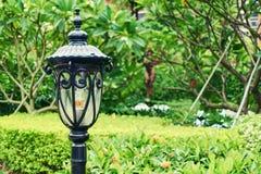 Trädgårds- ljus för tappning Arkivbild