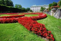 trädgårds- mirabell salzburg royaltyfri foto