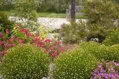 trädgårds- nätt Arkivfoton