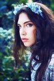 trädgårds- nätt kvinnor Royaltyfria Bilder