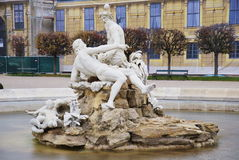 trädgårds- nbrunnsch för springbrunn Royaltyfri Bild