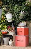 trädgårds- nederländsk vägg Royaltyfria Bilder