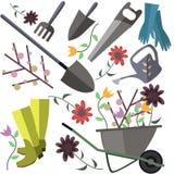 Trädgårds- objekt Arkivfoton