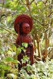 trädgårds- orientalisk staty Arkivfoto