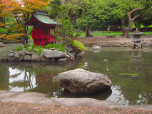 trädgårds- orientaliskt arkivbild
