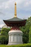 Trädgårds- pagodarkitektur för japan Royaltyfria Bilder