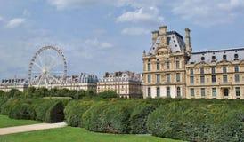 trädgårds- paris tuileries Arkivfoto