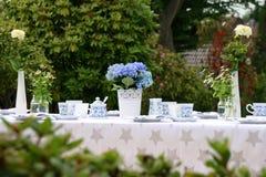Trädgårds- parti royaltyfri bild