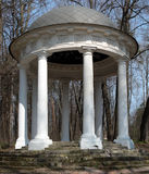 trädgårds- paviljongsukhanovo Arkivbilder