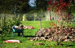trädgårds- pete s Arkivbilder