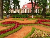 trädgårds- peterhof Royaltyfri Foto