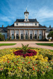trädgårds- pillnitz för slott Arkivbild