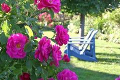 trädgårds- plats Royaltyfri Fotografi