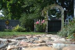 trädgårds- port Royaltyfri Bild
