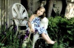 Trädgårds- prinsessa arkivfoto