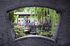trädgårds- qinghui Royaltyfria Foton