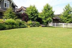Trädgårds- rabatt Royaltyfria Bilder