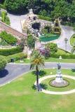 trädgårds- rome vatican Royaltyfri Fotografi