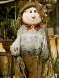 trädgårds- scarecrow Arkivbilder