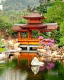 Trädgårds- sikt Royaltyfria Bilder