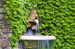 Trädgårds- skulptur royaltyfria foton