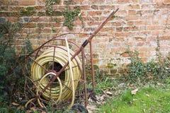 trädgårds- slang Arkivbilder
