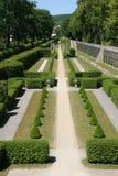 trädgårds- slottveitshoechheim för domstol Arkivfoton